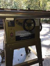 powermatic table saw model 63 powermatic 72 12 14 table saw rare full cast table 2800 mchenry