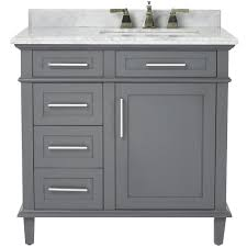 Vanity For Small Bathroom by Home Decorators Collection Sonoma 36 In W X 22 In D Bath Vanity