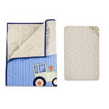 Porta Crib Bedding Set by Amazon Com Dream On Me Reversible Portable Crib Set Travel Time