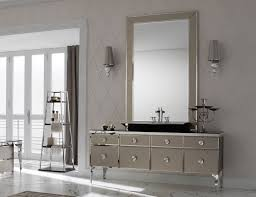 high end bathroom mirrors milldue majestic 10 bronze lacquered glass high end italian