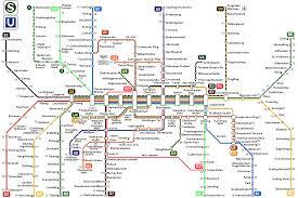 Muni Metro Map by Munich Subway Map Adriftskateshop