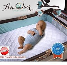 Mattress For Cribs Waterproof Baby Crib Mattress Protector Fitted