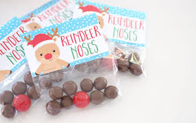 christmas treat bags printable bag toppers the organised housewife