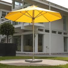 hurricane aluminum market umbrella from bambrella decor interiors