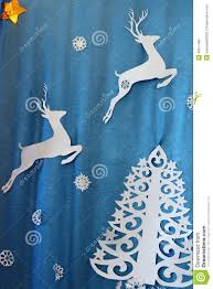 christmas decorations made of paper stock photo image 48911485