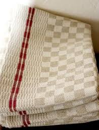 scotch green and white stripe dish towel kitchen towels birds eye twill in two colors 4 shaft 4 treadle weaving