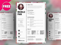 Free Cv Resume Designers Cv Resume Template Free Psd Psdexplorer