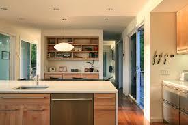 Kitchen Interior Decor Villa Minimalist Kitchen Interior Decor With Black Painted Table