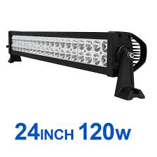 24 inch led light bar offroad 21 5inch 21 5 120w led light bar spot alloy work light jeep suv 4wd