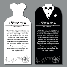 wedding invitations vector set of wedding invitation cards elements vector graphics 02