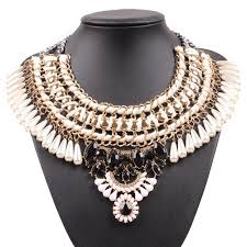 pearl necklace jewelry store images Buy 2018 new fashion model design gold color jpg