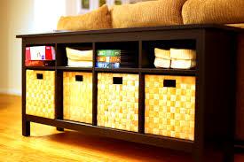 bedroom archaicfair hemnes console table black brown under sofa