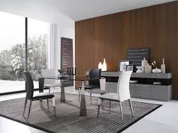 Modern Black Glass Dining Table Modern Tinted Glass Dining Table