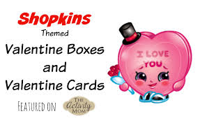 the activity mom shopkins valentines day