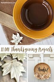 11 diy thanksgiving projects