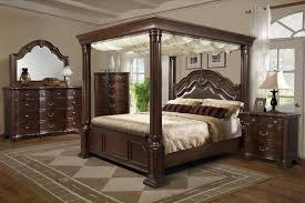 Bedroom The  Elements Tabasco Setwith Canopy Bed About - Brilliant bedroom furniture sets queen home