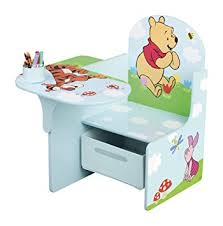 disney chair desk with storage disney winnie the pooh chair desk with storage bin amazon co uk baby
