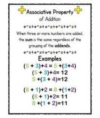 properties of multiplication associative properties of
