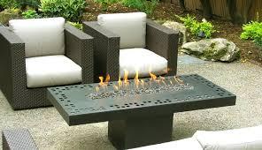 rectangle propane fire pit table rectangular fire pit table galleon wood propane gas fire pit table