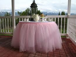 8 ft table skirt ready to ship 8ft pink tulle table skirt tutu tableskirt for