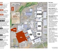 Portland State University Map by Intel Confirms It U0027ll Invest Billions In Hillsboro Plants
