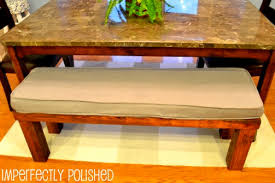 Benches With Cushions - diy bench cushion