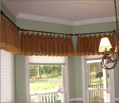 Flexible Curtain Rods For Bay Windows 38 Best Bay Window Ideas Curtains And Rods Images On Pinterest