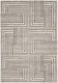 Safavieh Rug by Safavieh Safavieh Porcello Prl3740d Light Grey Dark Grey Area