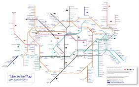 London Bus Map Tube Strike Map Which Lines Will Be Running U2013 Now Here This