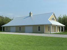 metal barn with living quarters floor plans pole barn home and