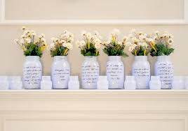 Wedding Reception Vases Things Brides Love Mason Jar Wedding Reception Decor Centerpieces