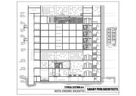Banquet Floor Plan Gallery Of Chrome Hotel Sanjay Puri Architects 9