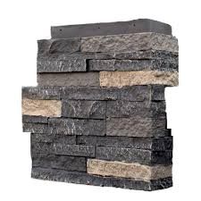 nextstone stacked stone bedford charcoal 4 25 in x 13 75 in faux