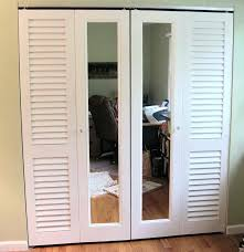 Lowes Louvered Closet Doors Splendid Louvered Closet Door Lowes Collection Plus Bi Fold Doors