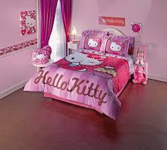 full bedding sets for girls fabulous light pink hello kitty toddler girls room design with