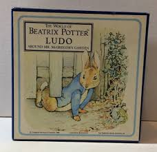 vintage 1988 beatrix potter rabbit ludo around mr
