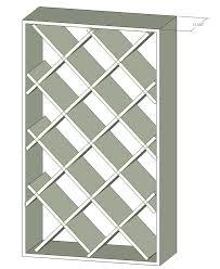 Diy Wood Rack Plans by Wine Rack Diy Building A Wine Rack How To Build A Wine Rack Diy