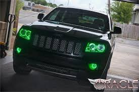 light green jeep cherokee 2011 2013 jeep grand cherokee oracle halo kit advanced automotive
