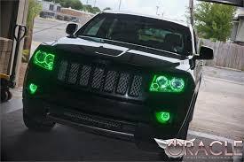 light green jeep cherokee 2011 2013 jeep grand cherokee oracle halo kit advanced automotive