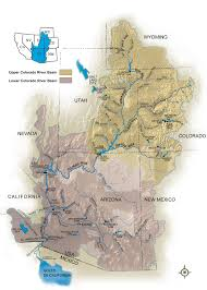 Map Of Colorado State by Colorado River Storage Project Uc Region Bureau Of Reclamation