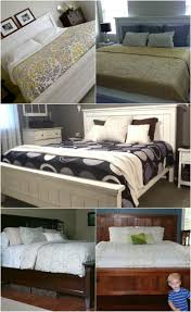 King Size Bed Frame Diy 21 Diy Bed Frame Projects Sleep In Style And Comfort Diy Crafts