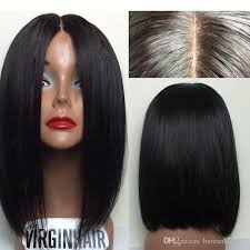 best hair to use for a bob 8a peruvian virgin human hair bob wigs unprocessed straight front