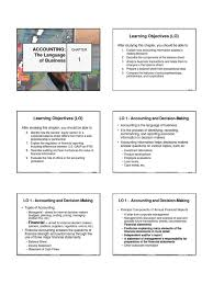 chapter 1 accounting the language of business balance sheet