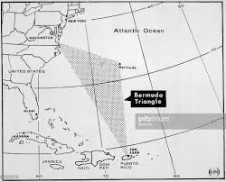 United States Map With Oceans by Map Of Bermuda Triangle Pictures Getty Images