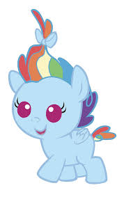 baby rainbow dash by marianhawke on deviantart