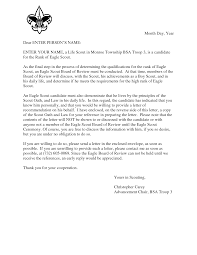 eagle scout letter of recommendation gplusnick