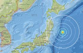 Usgs Earthquake Map California Magnitude 6 1 Earthquake Hits Off Japanese Coast Along Pacific
