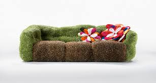 canapé original coloré du mobilier déco design original et créatif