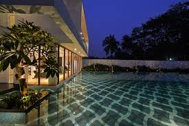 gallery of pool house abin design studio 11