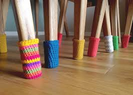 table leg covers victorian chair socks protect your floors free crochet pattern crochet